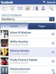 La nouvelle version de Facebook pour Blackberry arrive en version 1.9