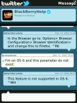 Twitter 1.1.0.16 pour Blackberry