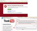 Phishing : Google Chrome 1 - 0 Internet Explorer